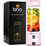 Brio Portable Blender for Shakes and Smoothies - Personal Blender for Gym & Healthy Lifestyle, Glass...