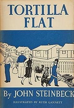ShopForAllYou magnets souvenirs BOOK COVER 2X3 FRIDGE MAGNET JOHN STEINBECK TORTILLA FLAT NOVEL CLASSIC BOOK