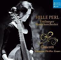 Telemann/Pfeiffer/Graun: Concerti by Hille Perl