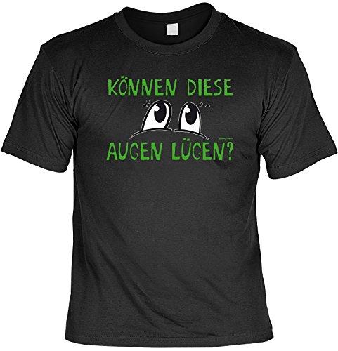 Grappige spreuken T-shirt ogen vliegen? Grappig bedrukt Funshirt Fun T-shirt geschenk T-shirt