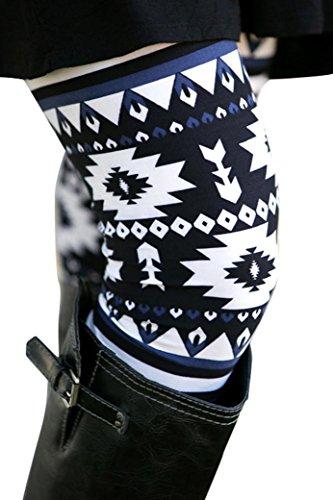 Beautyjourney Leggings Donna Stampa 3D Leggings Sport Opaco Yoga Fitness Spandex Palestra Leggins Pantaloni Eleganti Leggings Sportivi - Pantaloni Tuta Donna Legging Yoga Donna Sportive (XL, Nero)