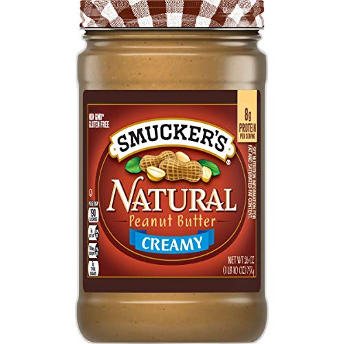 Smucker#039s Natural Creamy Peanut Butter 26 Ounces Pack of 6