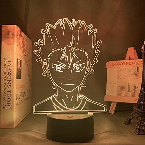 Anime Haiku Hinata Shoyo Sugawara Koshikage Yamatobio Figura 3d ni ght i ght mp ui th Mochion Senso r 3d