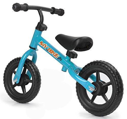 FEBER Nancy - Bicyclette sans pédale, pour filles de 2 à 5 ans, Bleue (Famosa 800009008)