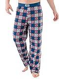 Avengers Pantalones de Pijama para Hombre Capitan America Multuicolor Medium