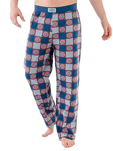 Marvel Avengers - pantaloni di pigiama per Uomo - Captain America - Small