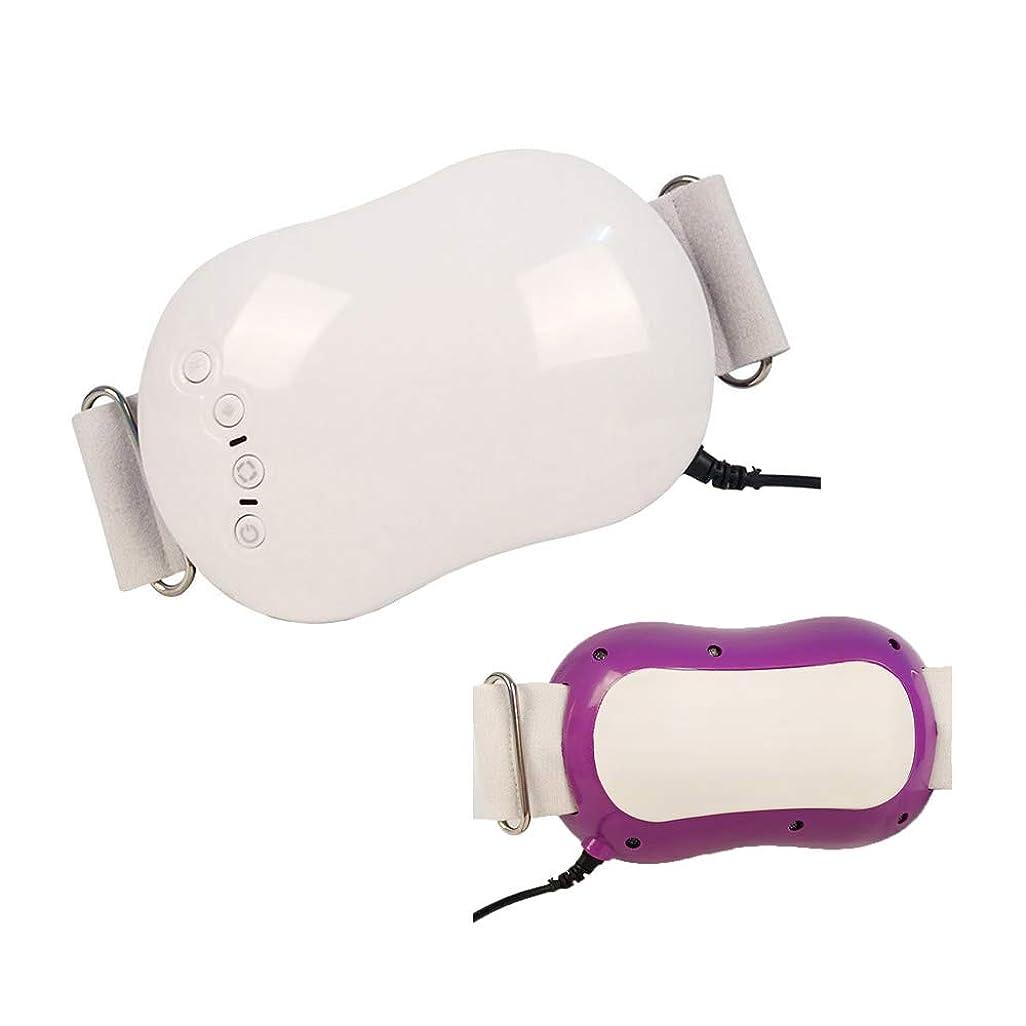 密アーサーコナンドイル計画ウエストマッサージベルト、ボディ痩身マッサージャー電気バイブレーター体脂肪バーナー腹脂肪燃焼マッサージデバイス,Purple