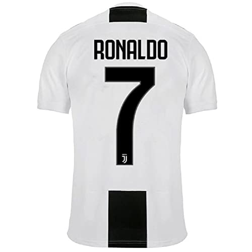 Barlener Mens Ronaldo Jerseys Juventus 7 Football Jersey Soccer Jersey White