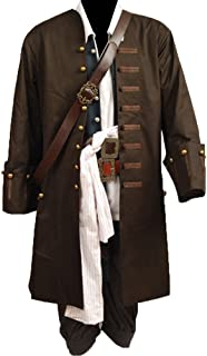 Cosplaysky Halloween Pirate Costume Pirates The Caribbean Jack Sparrow Outfit