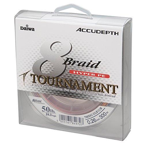 Daiwa Tournament 8 Braid 0.10mm 1000m Multicolor Geflochtene Schnur
