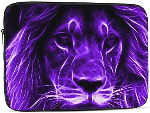 Lion Face Laptop Sleeve Bag - Evecase 15″ Neoprene Universal Sleeve Zipper Sleeve Cover Case for Notebook