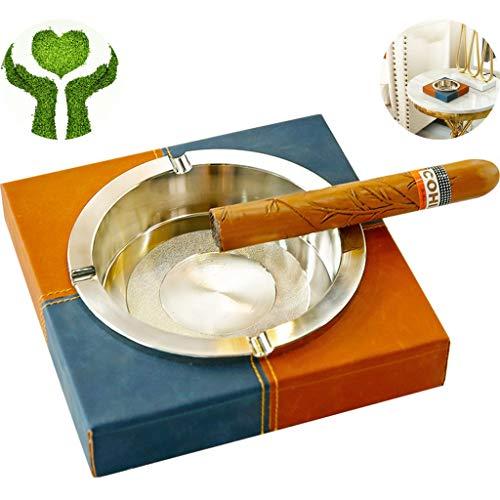 Prioriteit Cultuur Asbak, Sigarettenasbak, Roken Asbak Europese stijl Vierkante Lederen Asbak Creatieve Kunst En Studie Bureau Kunstdecoratie Cadeau Voor Vriendje