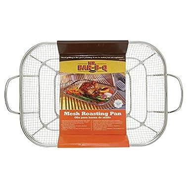 Mr. Bar-B-Q 06805Y Stainless Steel Mesh Roasting Pan