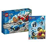 Lego 60242 - Juego de cartas de Lego City (cubierta blanda), diseño de la ciudad de Lego