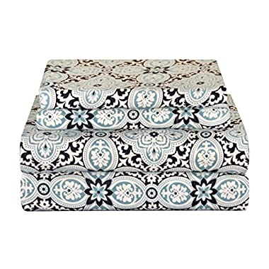 Pointehaven Heavy Weight Flannel Sheet Set, Queen, Ankara