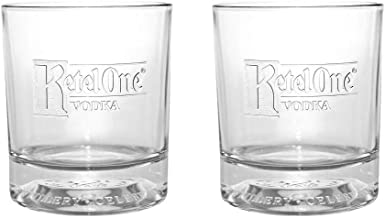 Ketel One Signature Rocks Glasses New 2017 Edition - Set of 2