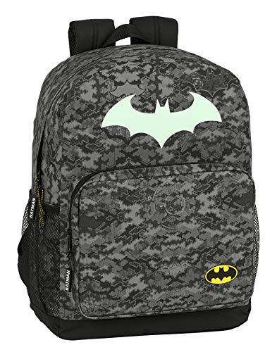 Safta 612004754 Mochila Escolar de Batman Night, 320x140x430mm