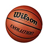 Wilson Evolution Game Basketball, Black, Official Size - 29.5' - 5 Pack