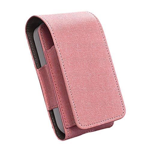 Tasche für Elektronische Zigarette, Schutzhülle/Halterung, Platz für Geldbeutel, aus Kunstleder, mit Kartenhalter