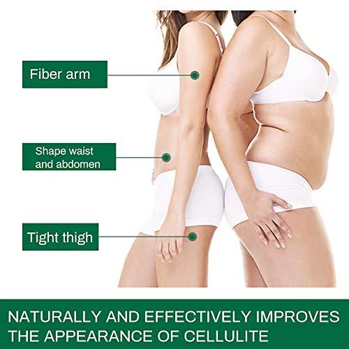 Cellulite Creme, Anti Cellulite, Cellulite massage Creme, Firming Creme, straffende Crème aktiviert die Haut zur Verbesserung der Hautkontur, Fettverbrennungscreme FüR Bauch, HüFte, Beine, 120g