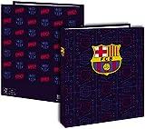 Carpeta escolar A4 FC Barcelona 4 anillas