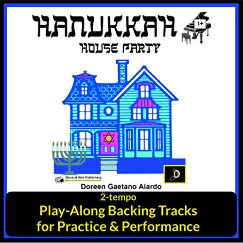 Hanukkah House Party: Play-Along Backing Tracks