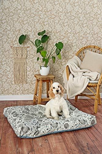 GOTS-zertifiziertes Haustierbett aus 100% Bio-Baumwolle. Umweltfreundliches Haustierbett. Eco friendly Hundebetten. Eco friendly Katzenbetten.