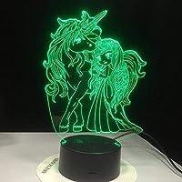 3DイリュージョンランプLEDナイトライト子供トンベリーゲームファイナルファンタジーキッズベッドルームの装飾男の子最高のギフトカメ親友のベスト誕生日ホリデープレゼント