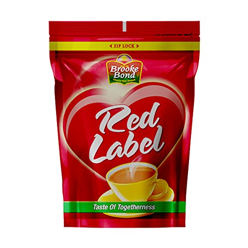 Red Label Tea, High Quality Blend Of Tea Rich In Healthy Flavonoids, Makes Tasty And Healthy Chai, 1 kg