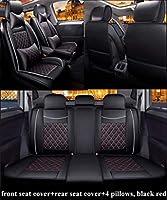 すべてのKia車に適した高級車のシートカバーrio3 soul sportage 2011 2018 Sorrento cerato k3 optima 2017は、防水性、防塵性 安全シート(エアバッグと互換性あり)、ベージュ標準です。