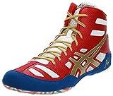 ASICS Men's JB Elite(tm) True Red/Olympic Gold/White Sneaker 13 D - Medium,13 M US/47 EU