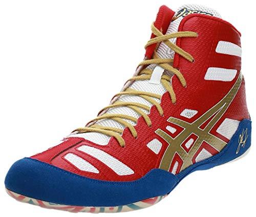 ASICS Men's JB Elite(tm) True Red/Olympic Gold/White Sneaker 10 D - Medium,10 M US/42.5 EU
