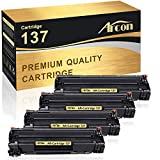 Arcon Compatible Toner Cartridge Replacement for Canon 137 Cartridge 137 CRG137 9435B001AA Canon Imageclass MF236n D570 MF249dw MF244dw MF247dw MF232w LBP151dw MF227dw MF229dw MF216n MF212w Toner-4PK