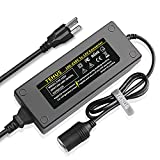 TEHUS ac to dc Power Supply 100V ~ 240V to 12V 10A Car Lighter Household Socket car Vacuum Cleaner Refrigerator car wash Machine Power Adapter