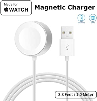 Atetion Watch Charger Pad & iWatch Magnetic USB Charging Cable