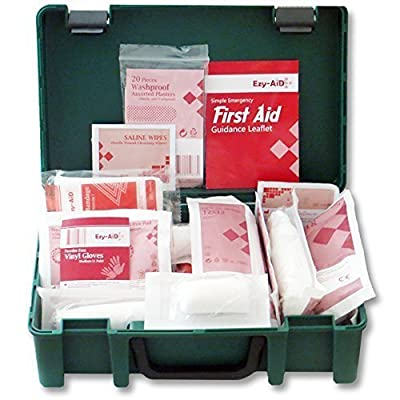 HSE Compliant - Travel & Workplace First Aid Kit for 1 - 10 Persons by Ezy-Aid®