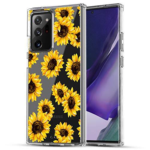 RANZ Schutzhülle für Galaxy Note 20 Ultra (17,5 cm) – Sonnenblume