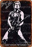 Jimoon Bruce Springsteen Retro Blechschild Jahrgang