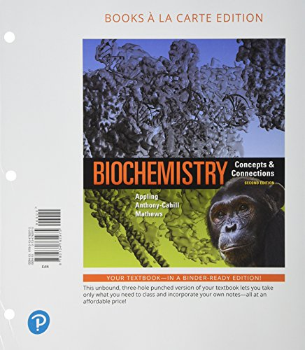 Biochemistry: Concepts and Connections, Books a la Carte Plus Mastering Chemistry with Pearson eText -- Access Card Pack