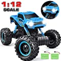 DOUBLE E RC Car 2020 Newest 1/12 Scale Remote Control Car, 2.4Ghz Off Road RC Trucks with Two Rechargeable Batteries 60 Min Play Electric Toy Car for All Adults & Kids from DOUBLE E