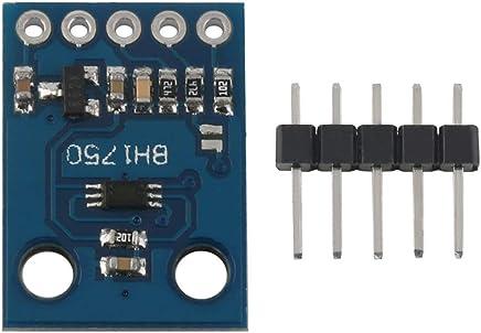 CJMCU-9833 AD9833 M/ódulo Generador de se/ñal M/ódulo DW de Onda Cuadrada sinusoidal Monitor HM Color: p/úrpura