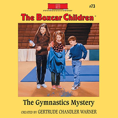 The Gymnastics Mystery audiobook cover art