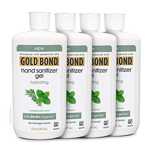 Gold Bond Hydrating Hand Sanitizer Gel - Kills 99.99% of...