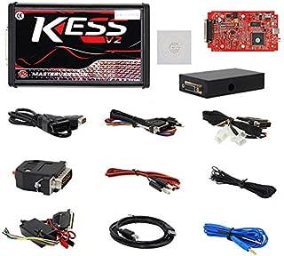 Red Car Kess V2.47 V5.017 ECU Tuning Full Kit EU Master Online No Token Limit