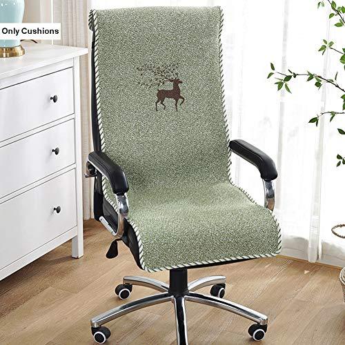 SXFYZCY Cuscino a Sedia a Sdraio da Giardino per sedie a Dondolo Sedie per Ufficio Cuscineria per Esterni Cuscineria per Divano,D,135x45cm