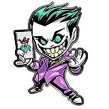 EARLFAMILY for The Joker Motorcycle Car Bumper Window Stickers Graffiti Sticker Vinyl Material DIY Occlusion Scratch