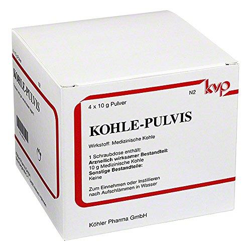 KOHLE-PULVIS Köhler Pharma, 4x10 g Pulver