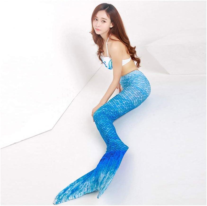 RTYU Mermaid Tails – 3pcs Toddler Mermaid Swimsuit for Girl