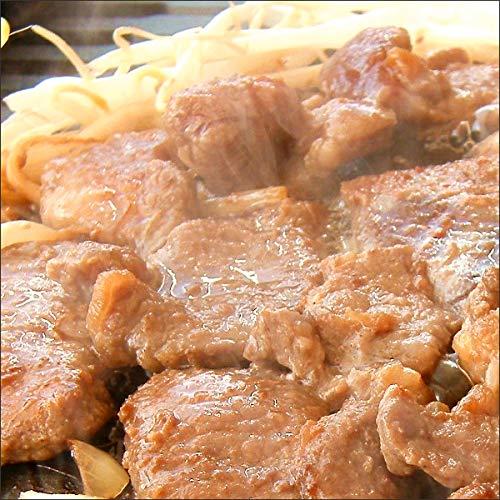 マトン肉 ジンギスカン 味付きジンギスカン 1kg×1袋 (醤油味/冷凍品) 業務用 マトン 羊肉 BBQ 北海道 じんぎすかん 千歳ラム工房 肉の山本