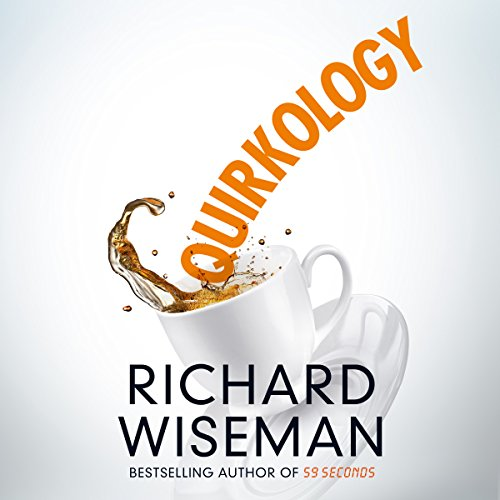 Quirkology audiobook cover art